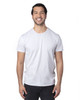 Silver - 100A Threadfast Unisex Ultimate Short-Sleeve T-Shirt | BlankClothing.ca