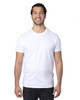 White - 100A Threadfast Unisex Ultimate Short-Sleeve T-Shirt | BlankClothing.ca