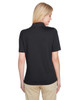 Black, Back - M348W Harriton Ladies' Advantage Snag Protection Plus IL Polo Shirt | Blankclothing.ca