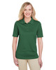 Dark Green - M348W Harriton Ladies' Advantage Snag Protection Plus IL Polo Shirt | Blankclothing.ca