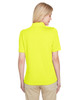 Safety Yellow, Back - M348W Harriton Ladies' Advantage Snag Protection Plus IL Polo Shirt | Blankclothing.ca