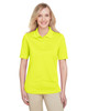 Safety Yellow - M348W Harriton Ladies' Advantage Snag Protection Plus IL Polo Shirt | Blankclothing.ca
