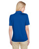 True Royal - Back, M348W Harriton Ladies' Advantage Snag Protection Plus IL Polo Shirt | Blankclothing.ca