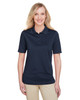 Dark Navy - M348W Harriton Ladies' Advantage Snag Protection Plus IL Polo Shirt | Blankclothing.ca