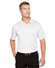 White - M348 Harriton Men's Advantage Snag Protection Plus IL Polo Shirt | BlankClothing.ca