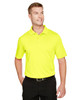 Safety Yellow - M348 Harriton Men's Advantage Snag Protection Plus IL Polo Shirt | BlankClothing.ca