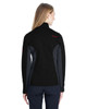 Black/Polar/Red, Back - 187335 Spyder Ladies' Constant Full-Zip Sweater | BlankClothing.ca