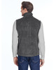 Charcoal Heather, Back - 6747 Columbia Men's Steens Mountain™ Vest | BlankClothing.ca