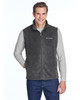 Charcoal Heather - 6747 Columbia Men's Steens Mountain™ Vest | BlankClothing.ca