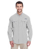 Cool Grey - 7048 Columbia Men's Bahama™ II Long-Sleeve Shirt | BlankCLothing.ca