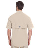Fossil, Back - 7047 Columbia Men's Bahama™ II Short-Sleeve Shirt | BlankClothing.ca