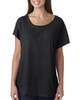 Vintage Black -  6760 Next Level Ladies' Triblend Dolman Shirt | BlankClothing.ca