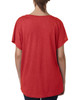 Vintage Red, Back -  6760 Next Level Ladies' Triblend Dolman Shirt | BlankClothing.ca
