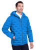 Olympic Blue/Carbon - NE708 North End Men's Loft Puffer Jacket | Blankclothing.ca