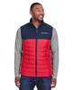 Mountain Red/Columbia Navy - 1748031 Columbia Men's Powder Lite™ Vest | Blankclothing.ca