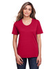 Classic Red - CE111W Core 365 Ladies' Fusion ChromaSoft™ Performance T-Shirt | BlankClothing.ca