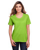 Acid Green - CE111W Core 365 Ladies' Fusion ChromaSoft™ Performance T-Shirt | BlankClothing.ca