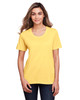 Campus Gold - CE111W Core 365 Ladies' Fusion ChromaSoft™ Performance T-Shirt | BlankClothing.ca
