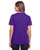 Campus Purple - Back, CE111W Core 365 Ladies' Fusion ChromaSoft™ Performance T-Shirt | BlankClothing.ca