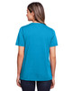 Electric Blue - Back, CE111W Core 365 Ladies' Fusion ChromaSoft™ Performance T-Shirt | BlankClothing.ca