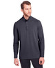 Carbon - NE400 North End Men's Jaq Snap-Up Stretch Performance Pullover Long Sleeve Shirt | BlankClothing.ca