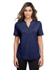 Classic Navy - NE100W North End Ladies' Jaq Snap-Up Stretch Performance Polo | BlankClothing.ca