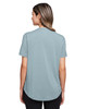 Opal Blue - Back, NE100W North End Ladies' Jaq Snap-Up Stretch Performance Polo | BlankClothing.ca