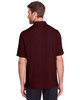 Burgundy - Back, NE100 North End Men's Jaq Snap-Up Stretch Performance Polo | BlankClothing.ca