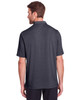 Carbon - Back, NE100 North End Men's Jaq Snap-Up Stretch Performance Polo | BlankClothing.ca