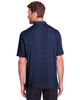 Classic Navy - Back, NE100 North End Men's Jaq Snap-Up Stretch Performance Polo | BlankClothing.ca
