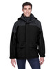 Black - 88006 North End Adult 3 - in 1 Two-Tone Parka   BlankClothing.ca