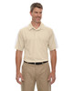 Sand - 85089 Extreme Men's Eperformance Pique Color-Block Polo Shirt | BlankClothing.ca