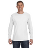 White - 29L Jerzees Long Sleeve T-shirt