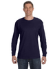 J Navy - 29L Jerzees Long Sleeve T-shirt