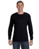 Black - 29L Jerzees Long Sleeve T-shirt