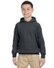 Charcoal - G185B Gildan Heavy Blend Youth 50/50 Hoodie | Blankclothing.ca