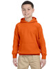 Orange - G185B Gildan Heavy Blend Youth 50/50 Hoodie | Blankclothing.ca