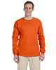 Burnt Orange - 4930 Fruit of the Loom 100% Heavy Cotton HD® Long-Sleeve T-Shirt | Blankclothing.ca