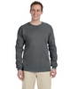 Charcoal Grey 4930 Fruit of the Loom 100% Heavy Cotton HD® Long-Sleeve T-Shirt   Blankclothing.ca