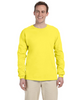 Yellow - 4930 Fruit of the Loom 100% Heavy Cotton HD® Long-Sleeve T-Shirt | Blankclothing.ca