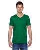 Clover SFVR Fruit of the Loom 100% Softspun Cotton Jersey V-Neck T-Shirt | Blankclothing.ca