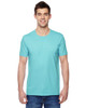 Scuba Blue - SF45R Fruit of the Loom Softspun Cotton T-Shirt | Blankclothing.ca