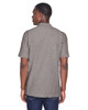Grey Heather, Back - M280 Harriton Men's Blend-Tek Polo Shirt | BlankClothing.ca