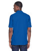 True Royal, Back - M280 Harriton Men's Blend-Tek Polo Shirt | BlankClothing.ca