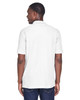 White, Back - M280 Harriton Men's Blend-Tek Polo Shirt | BlankClothing.ca