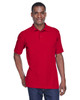 Red - M280 Harriton Men's Blend-Tek Polo Shirt | BlankClothing.ca