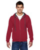 Cardinal - SF73R Fruit Of The Loom Softspun Full-Zip Hooded Sweatshirt | Blankclothing.ca