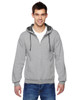Athletic Heather - SF73R Fruit Of The Loom Softspun Full-Zip Hooded Sweatshirt | Blankclothing.ca