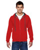 Fiery Red - SF73R Fruit Of The Loom Softspun Full-Zip Hooded Sweatshirt | Blankclothing.ca