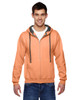 Orange Sherbet - SF73R Fruit Of The Loom Softspun Full-Zip Hooded Sweatshirt | Blankclothing.ca